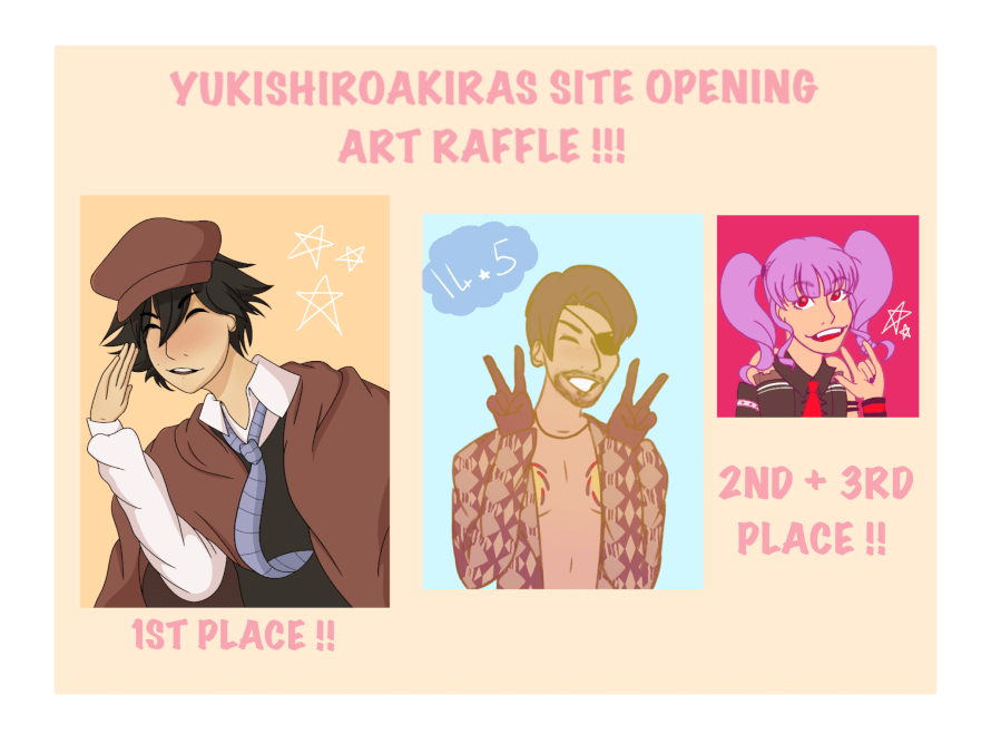 ART RAFFLE !!!