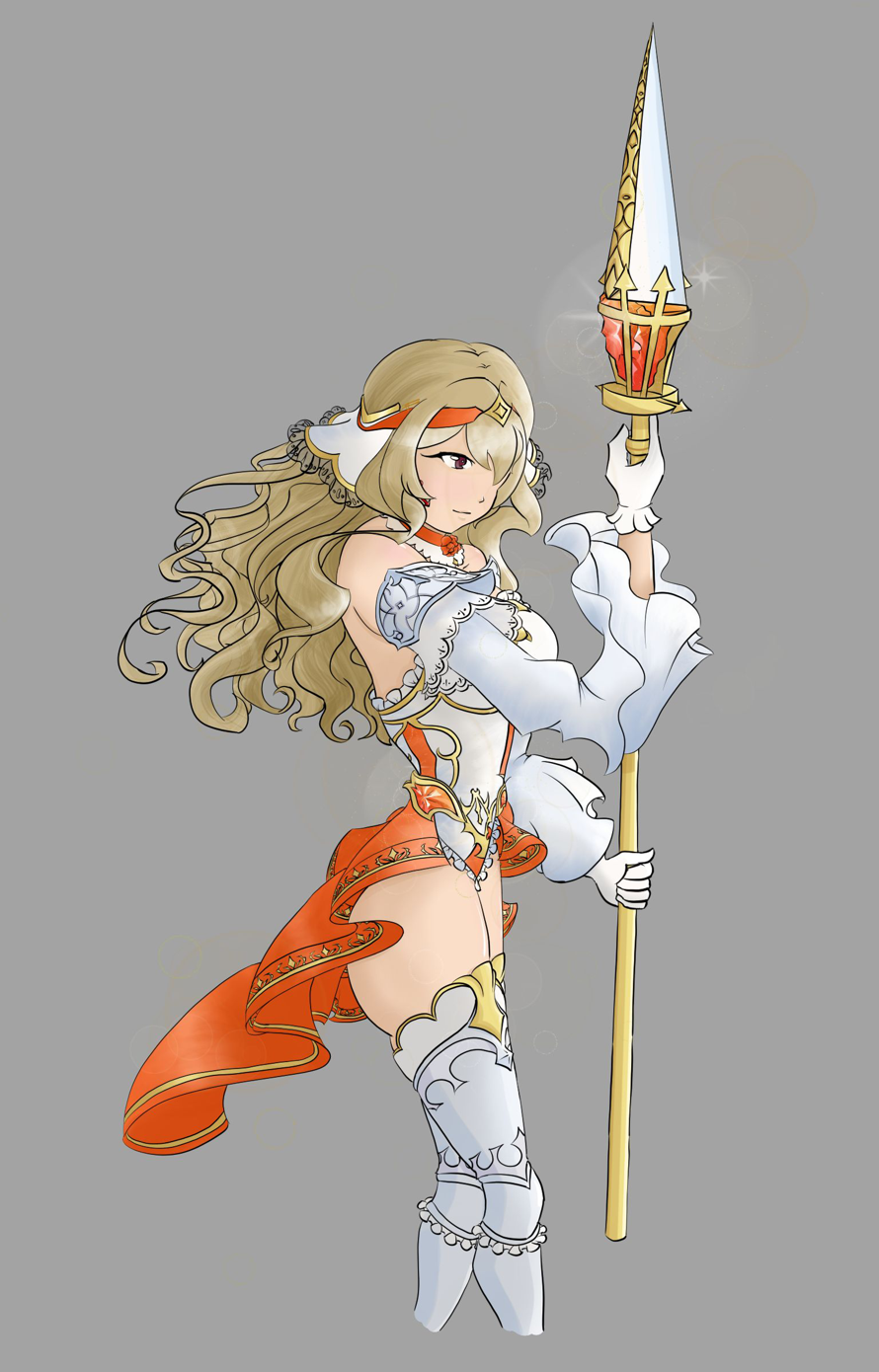 Drew the new Challenge Revue knight, Percival!