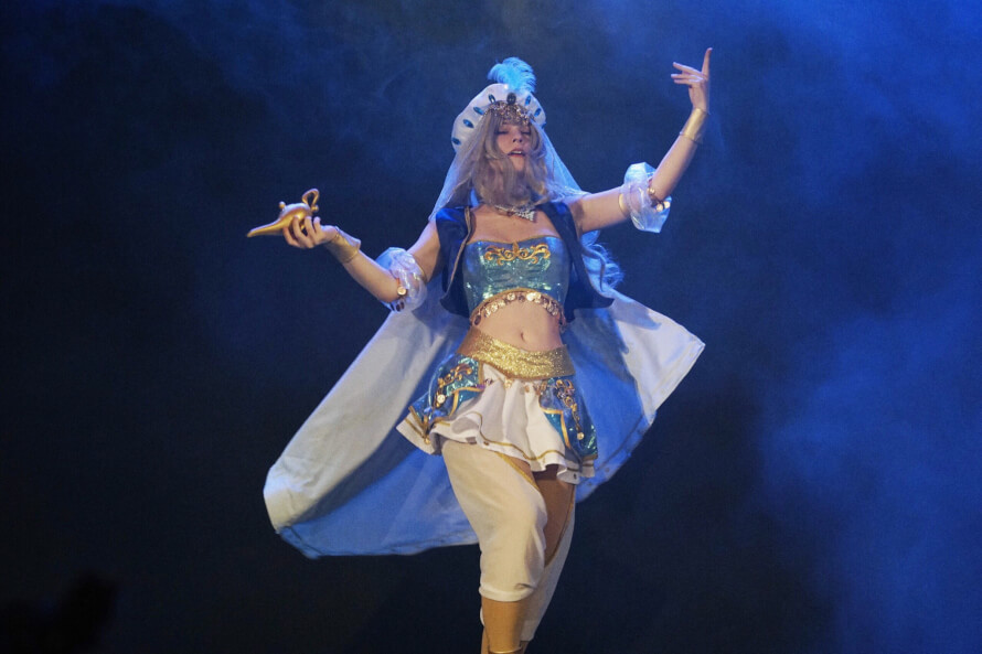 And my fav pic of my stage perfomance as Claudine!