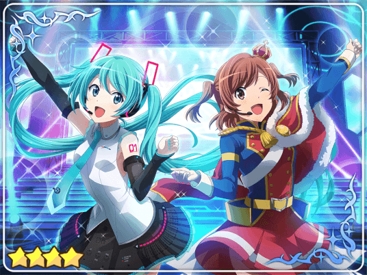 ★★★★ Co-starring with Hatsune Miku!